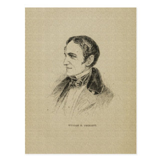 American author James Fenimore Cooper drawing Postcard