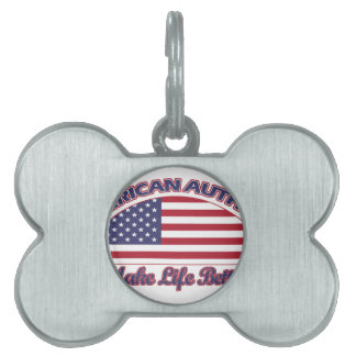 American Authors designs Pet Tag