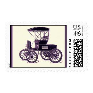 American Automobile 1902 Vintage Automobile Postage Stamps