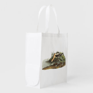 American Avocet by Audubon Reusable Grocery Bag