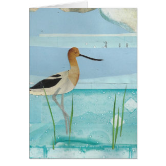 American Avocet Stationery Note Card