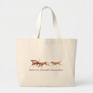 American Azawakh Association Jumbo Tote Bag