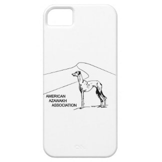 American Azawakh Association Logo Cell Phone Cover