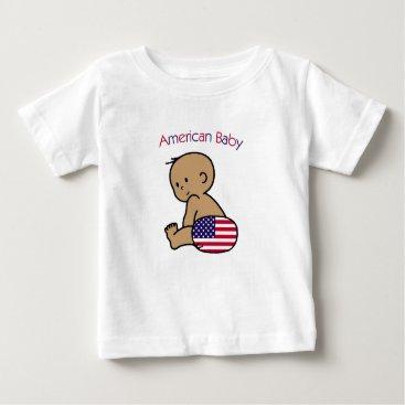 USA Themed American Baby Baby T-Shirt