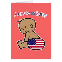 American Baby Card