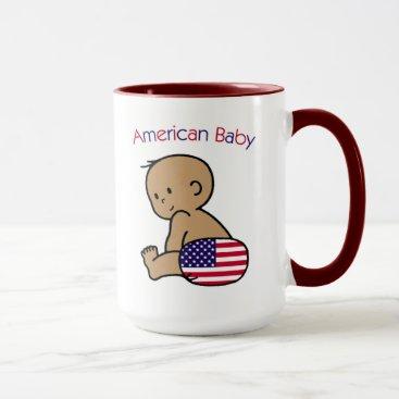 USA Themed American Baby Mug