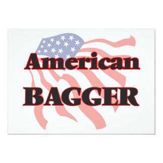 American Bagger 5x7 Paper Invitation Card