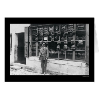 American Bakery in Istanbul, Turkey 1922 Cards