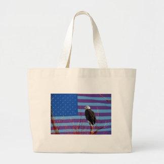 American Bald Eagle 3 Tote Bags