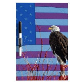 American Bald Eagle 3 Dry Erase Board
