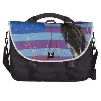 American Bald Eagle 3 Bag For Laptop