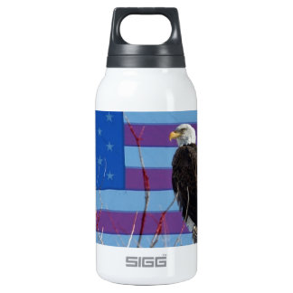 American Bald Eagle 3 Thermos Water Bottle