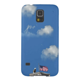 American Bald Eagle And American Flag Cases For Galaxy S5