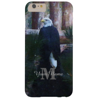 American bald eagle and monogram barely there iPhone 6 plus case