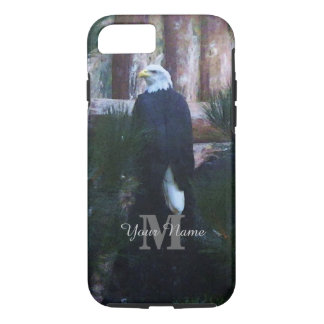 American bald eagle and monogram iPhone 7 case