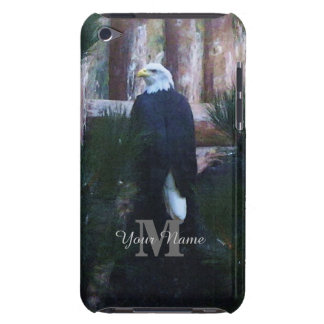 American bald eagle and monogram iPod touch Case-Mate case