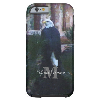 American bald eagle and monogram tough iPhone 6 case