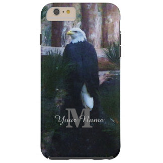 American bald eagle and monogram tough iPhone 6 plus case