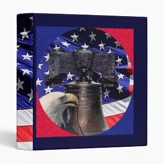American Bald Eagle, Bell and Flag Binder