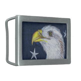 American Bald Eagle Belt Buckle