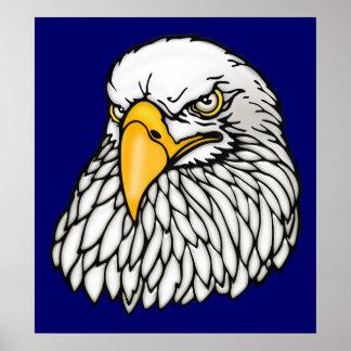 American bald eagle CHOOSE SIZE Poster