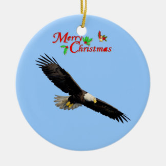 American Bald Eagle Christmas Ornament