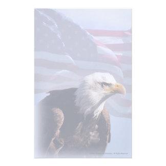 American Bald Eagle Custom Stationery