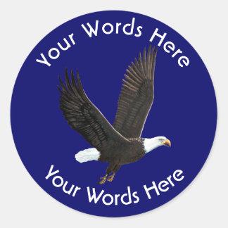 American Bald Eagle Custom Sticker