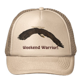 American Bald Eagle Design for Bird-lovers Hats