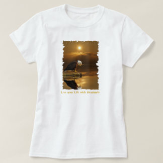 American Bald Eagle Design for Bird-lovers T-Shirt