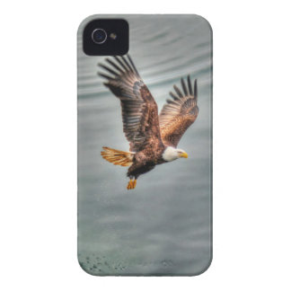 American Bald Eagle Flying Over Ocean Case-Mate iPhone 4 Case