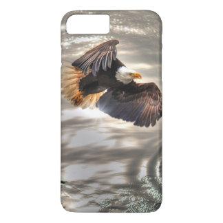 American Bald Eagle Flying Over Ocean iPhone 8 Plus/7 Plus Case
