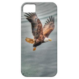 American Bald Eagle Flying Over Ocean iPhone SE/5/5s Case