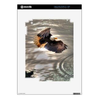 American Bald Eagle Flying Over Ocean Skin For iPad 2