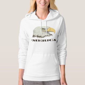 American Bald Eagle For Merica Hoodie
