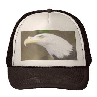 American Bald Eagle Head Cap Trucker Hat