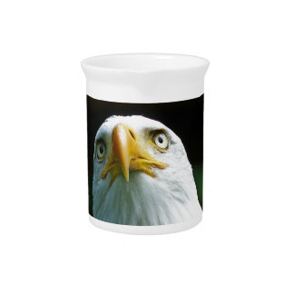 American Bald Eagle Head Pitcher