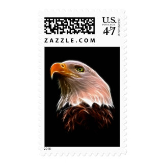 American Bald Eagle Head Postage