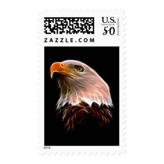 American Bald Eagle Head Postage