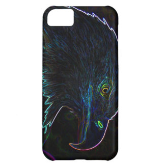 American Bald Eagle in Glowing Edges Cover For iPhone 5C