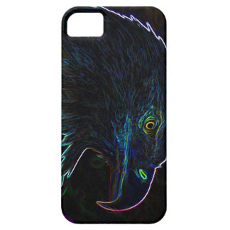American Bald Eagle in Glowing Edges iPhone SE/5/5s Case