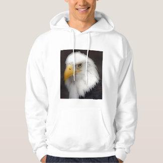 'American Bald Eagle in Portrait' Hoody