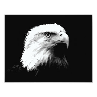 American Bald Eagle 4.25x5.5 Paper Invitation Card