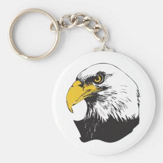 American Bald Eagle Keychain