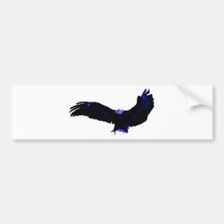 American Bald Eagle Landing Bumper Sticker
