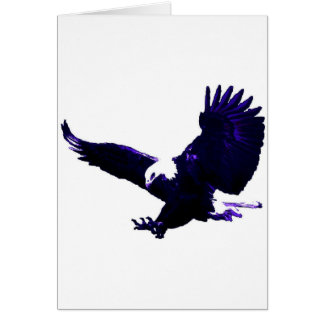 American Bald Eagle Landing Card