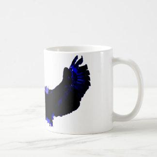 American Bald Eagle Landing Coffee Mug