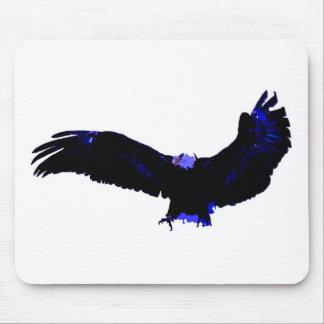 American Bald Eagle Landing Mouse Pad