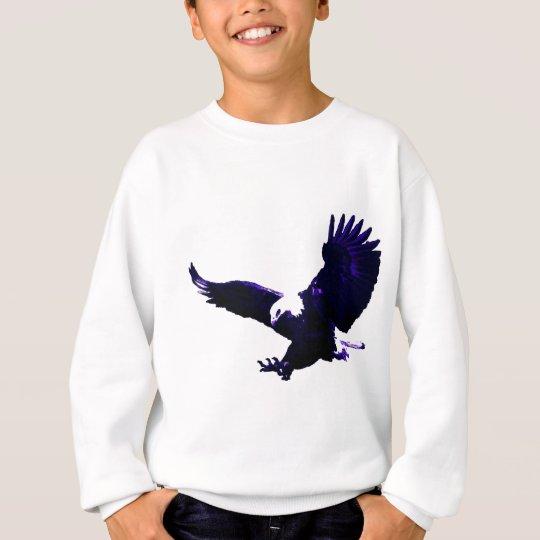 American Bald Eagle Landing Sweatshirt