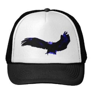 American Bald Eagle Landing Trucker Hat